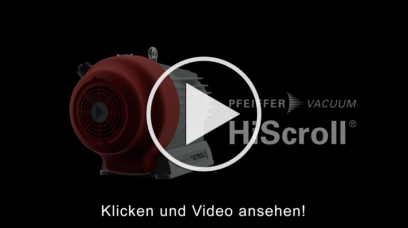 Pfeiffer HiScroll Pumpen Video